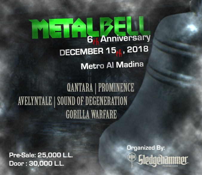 Metal Bell 6th Anniversary