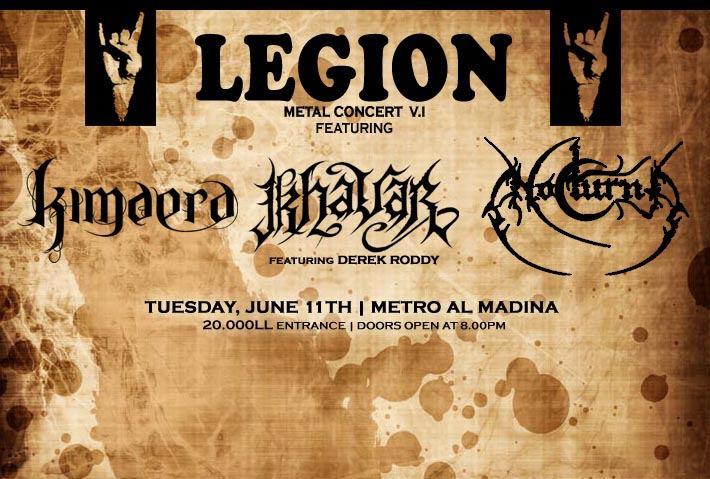 LEGION Metal Concert V1