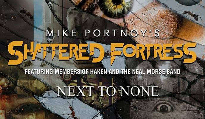 MIKE PORTNOY'S Shattered Fortress Live In Paris