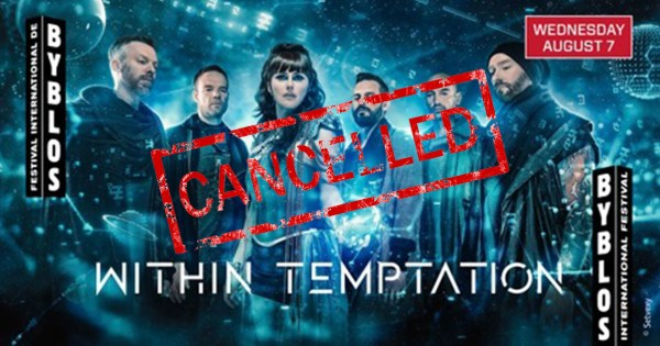 WITHIN TEMPTATION Cancels Lebanon Show In Solidarity with Mashrou' Leila