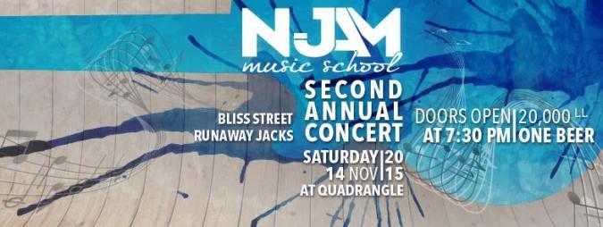 Njam music school second annual concert