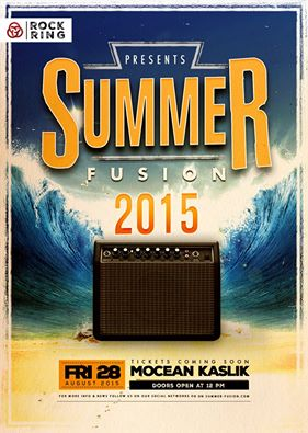 Summer Fusion 2015 Official Poster