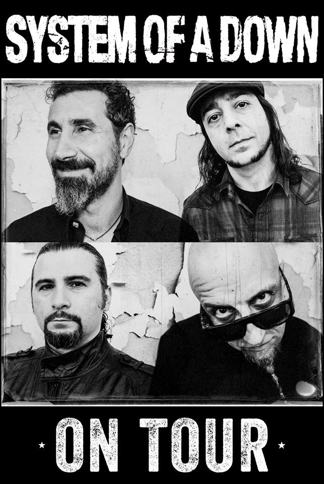 System Of A Down Tour