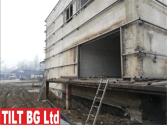 Реновиране на съществуващи стари халета