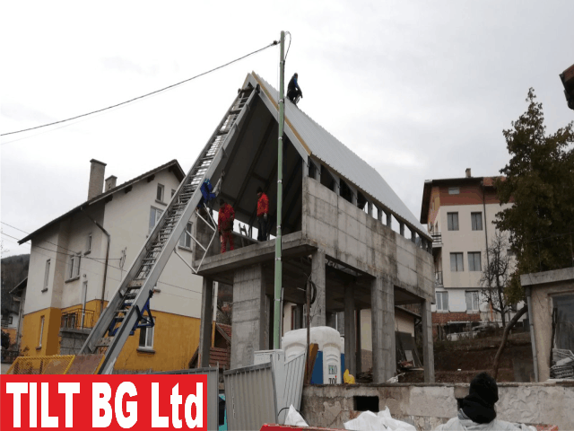 Изграждане на метален покрив. Производство и монтаж на къщи с метална конструкция.