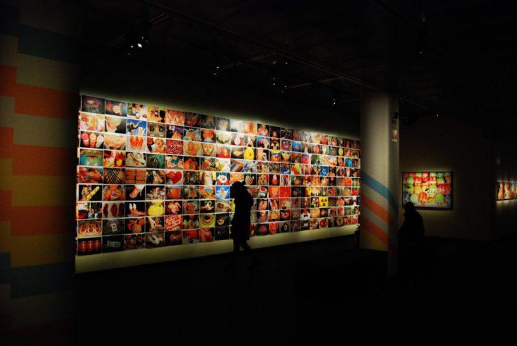 Homepage zur Kunstgalerie umwandeln