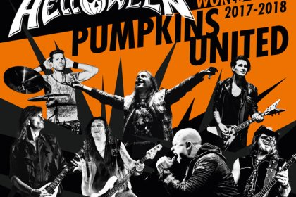 Helloween - Pumpkins United World Tour Flyer