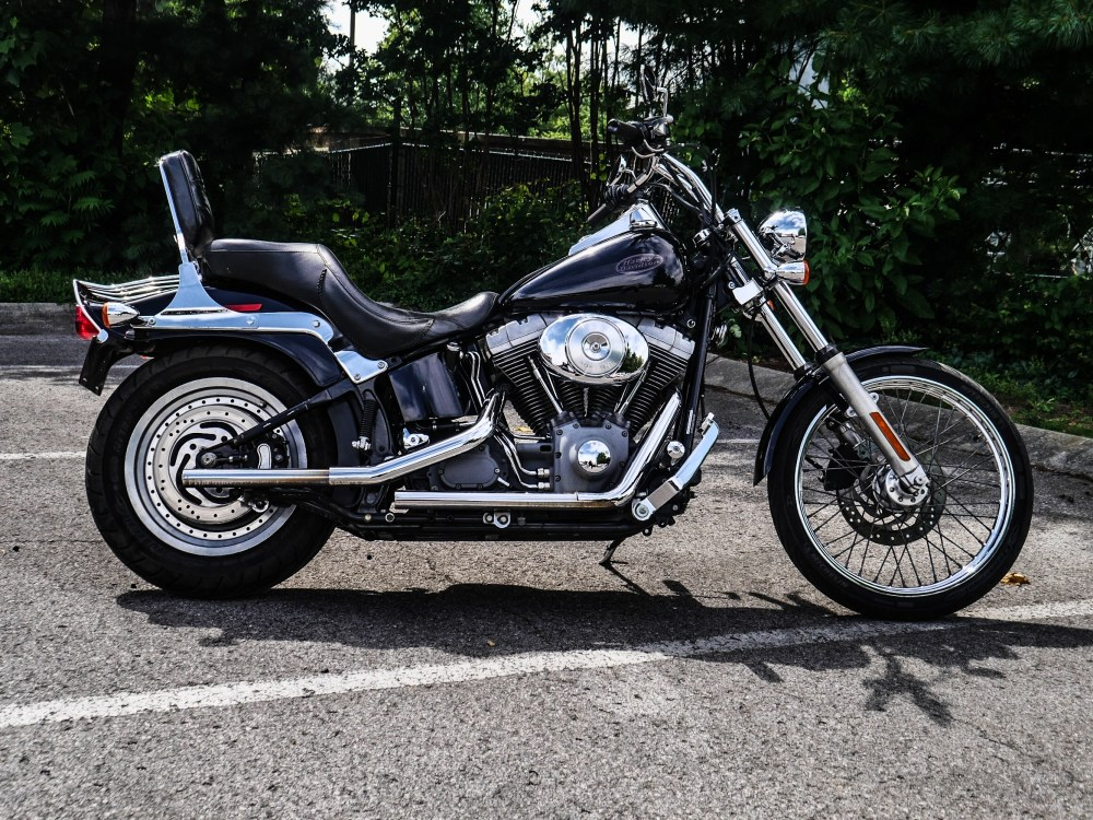 medium resolution of pre owned 2004 harley davidson fxst softail