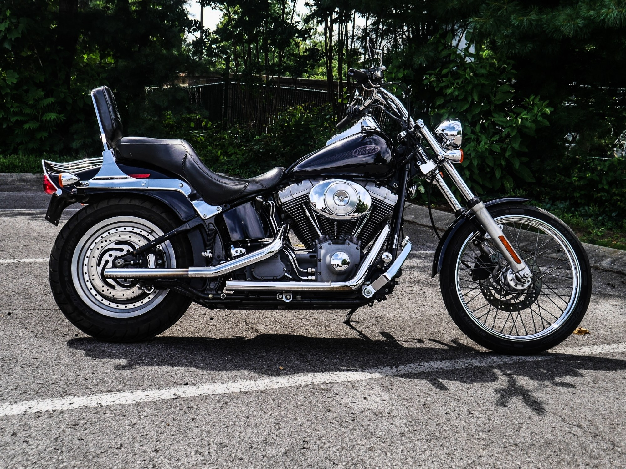 hight resolution of pre owned 2004 harley davidson fxst softail