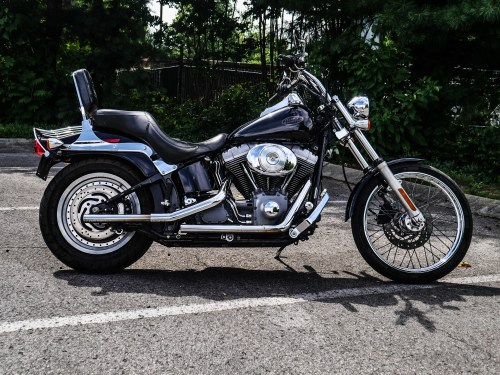 small resolution of pre owned 2004 harley davidson fxst softail
