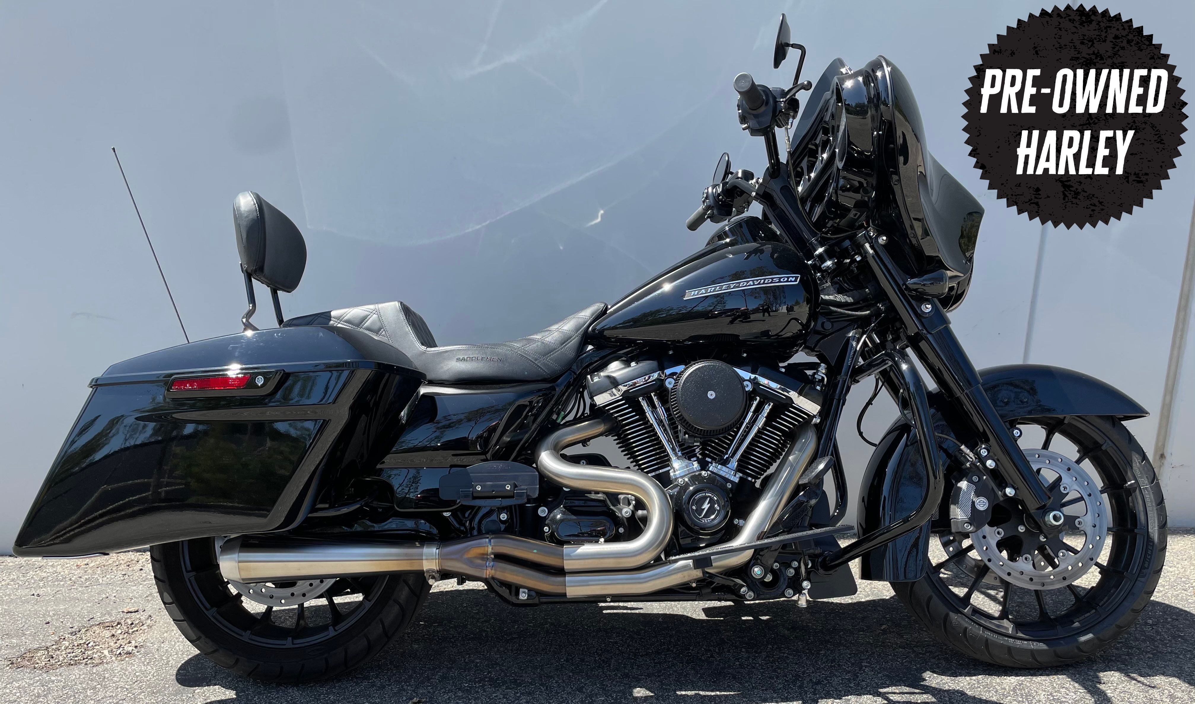 pre owned 2019 harley davidson touring street glide special flhxs
