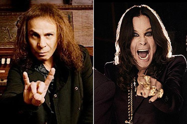 Ronnie James Dio Ozzy Osbourne