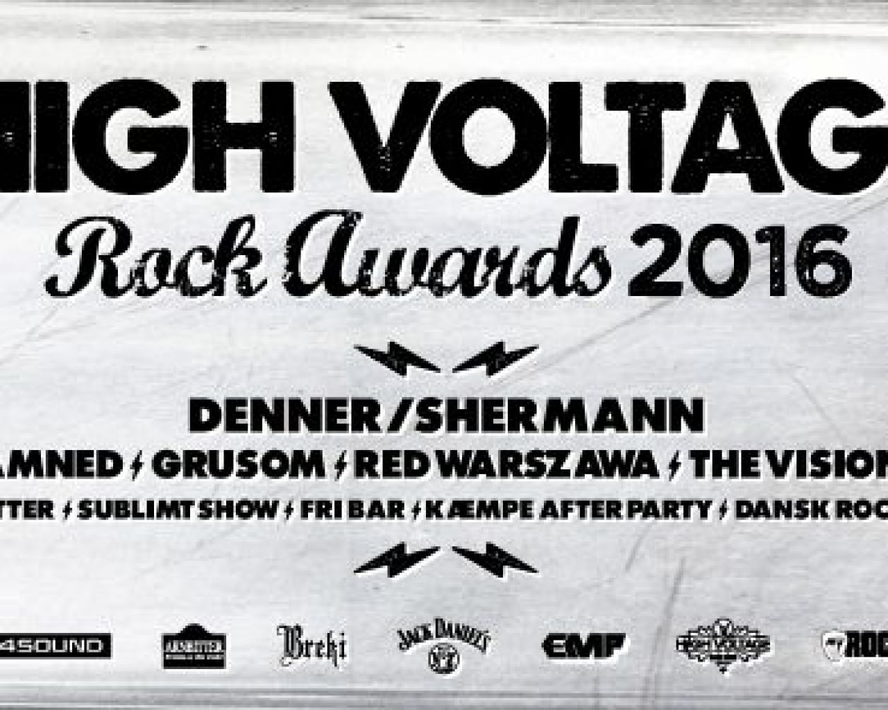 High Voltage Rock Awards 2016 – Årets vindere