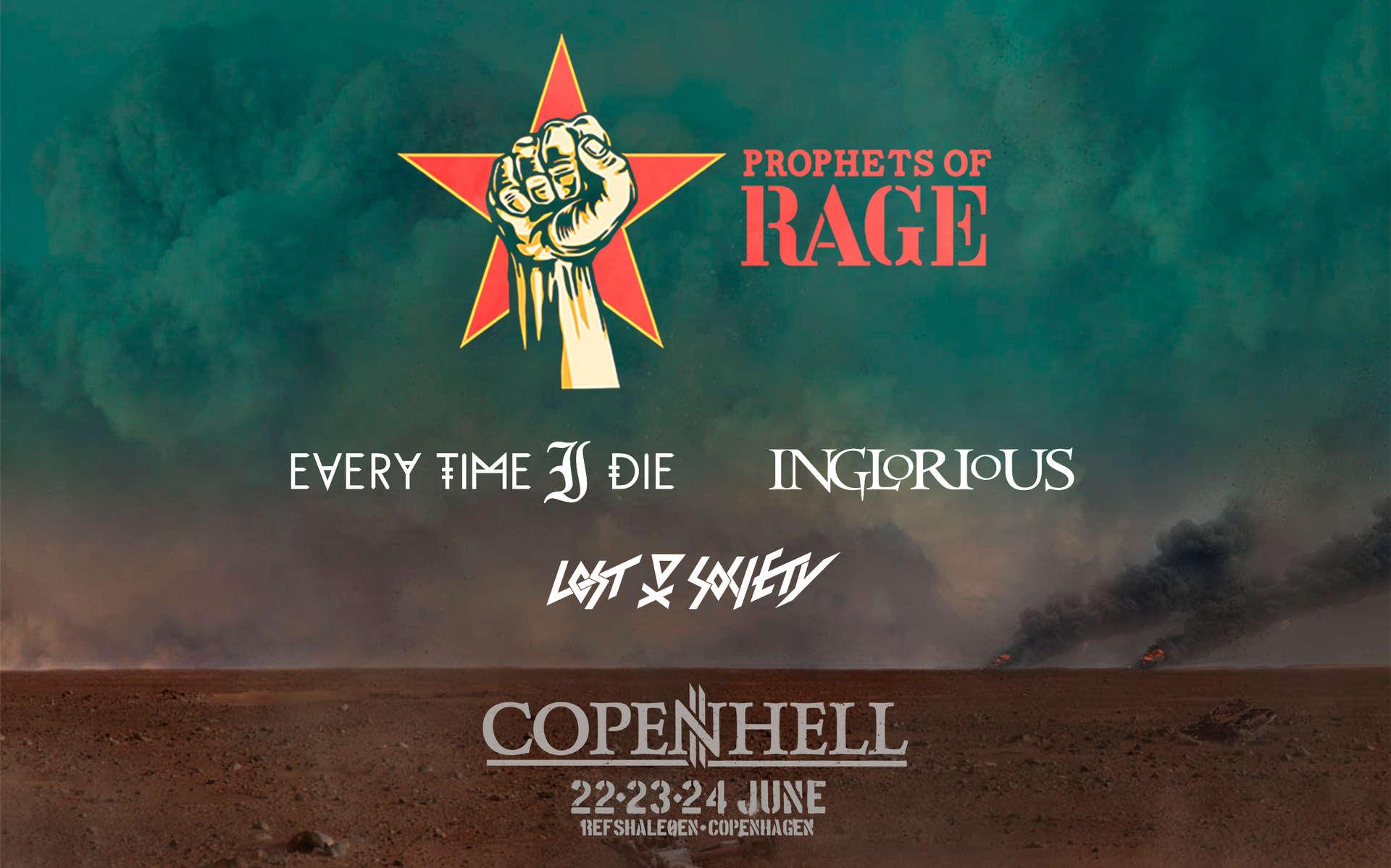 Prophets of Rage til Copenhell!!!