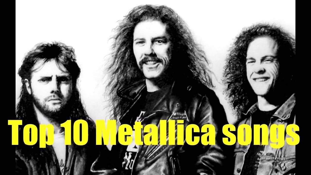 Top 10 Metallica-numre