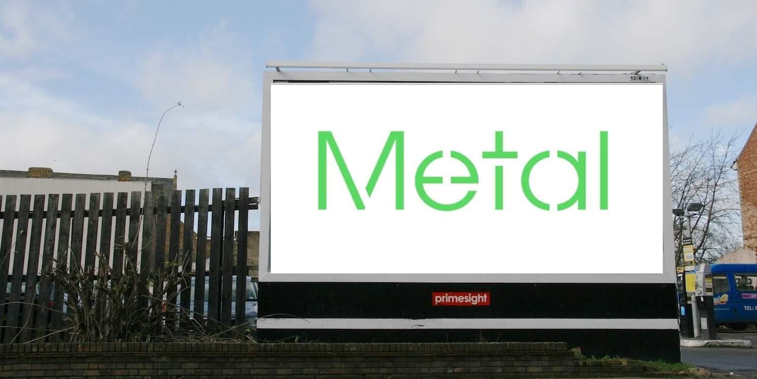Billboard-metal midt i en valgtid