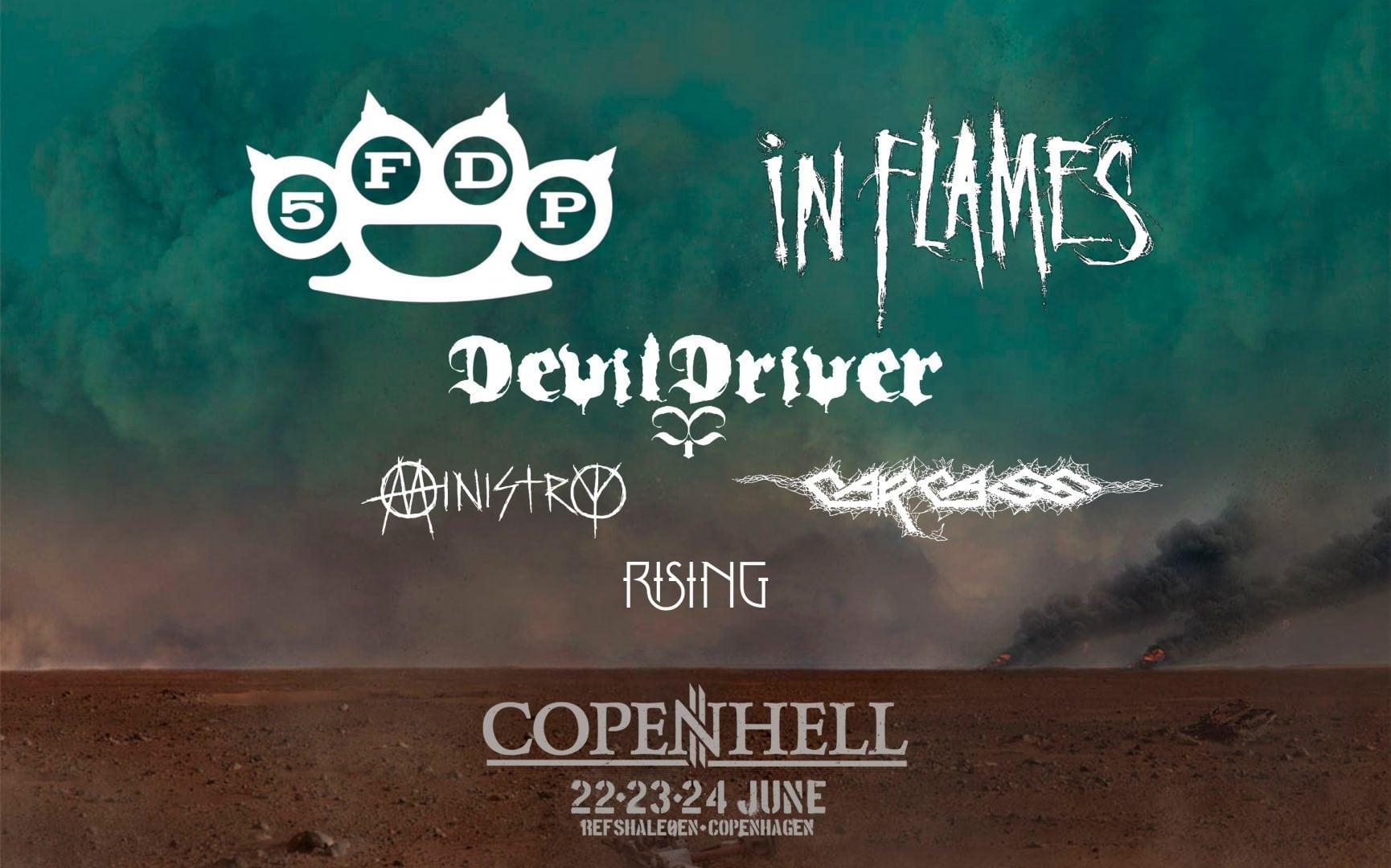 In Flames, DevilDriver og flere til Copenhell!!!