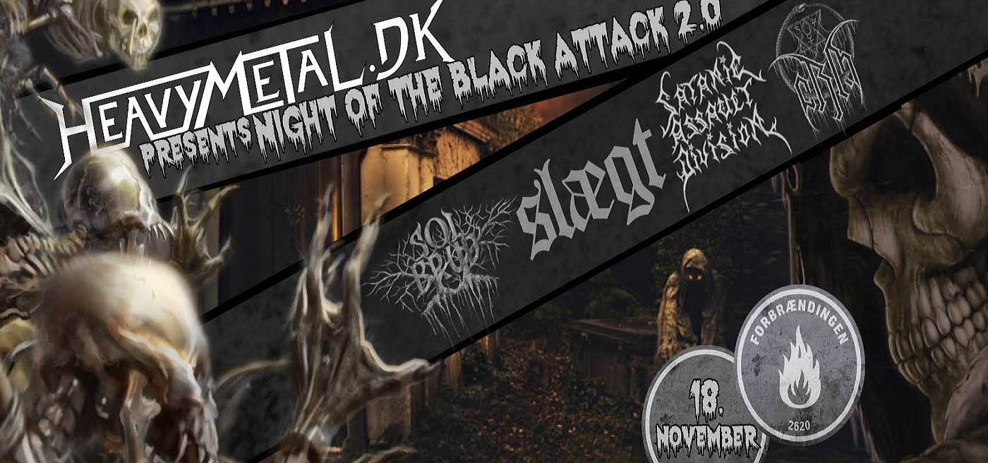 KONKURRENCE – Night of the Black Attack
