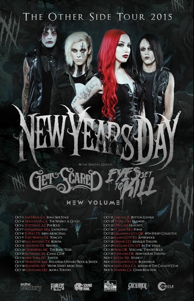 new years day announce