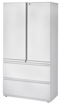 Storage Cabinet-Lateral File Combination Cabinets (SLFs)