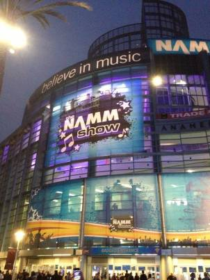 NAMM Outside-Russ LeMaster