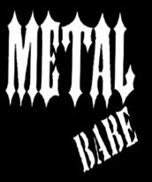 Metal Babe Stamp Logo