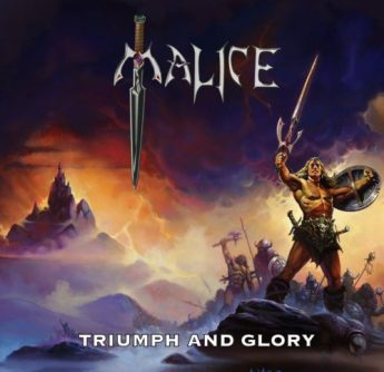 0A - Malice - Triumph and Glory cd cover