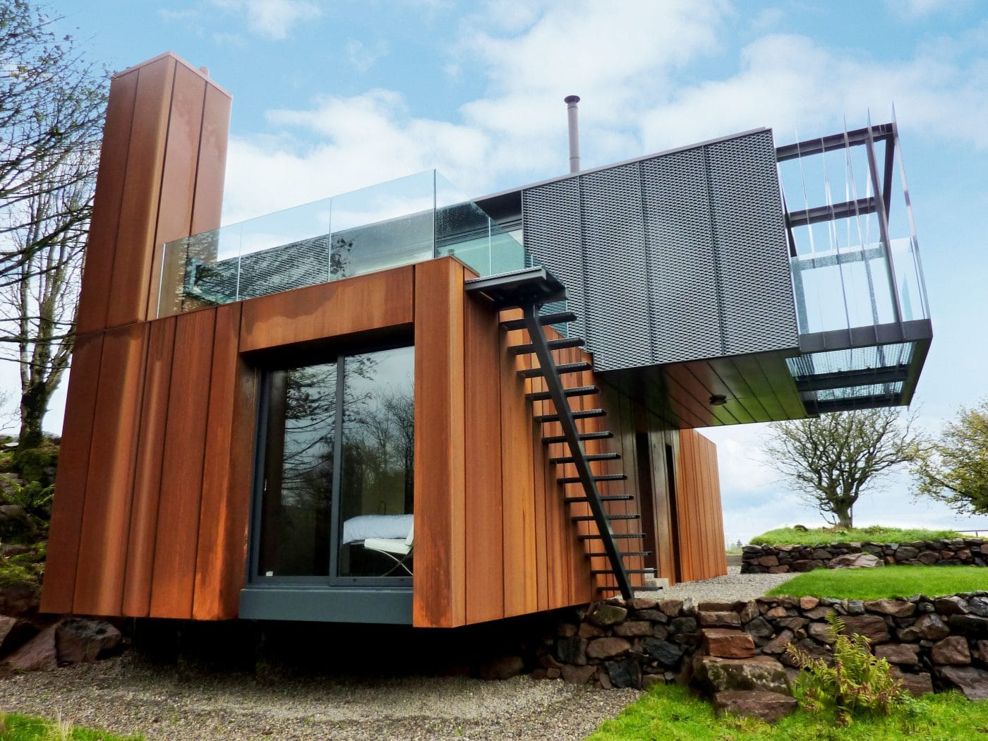 Grand Designs  Shipping Container Home by Patrick Bradley  Metal Building Homes