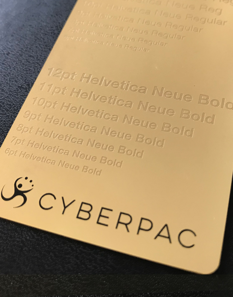 Steel Business Cards - Metal Card Company