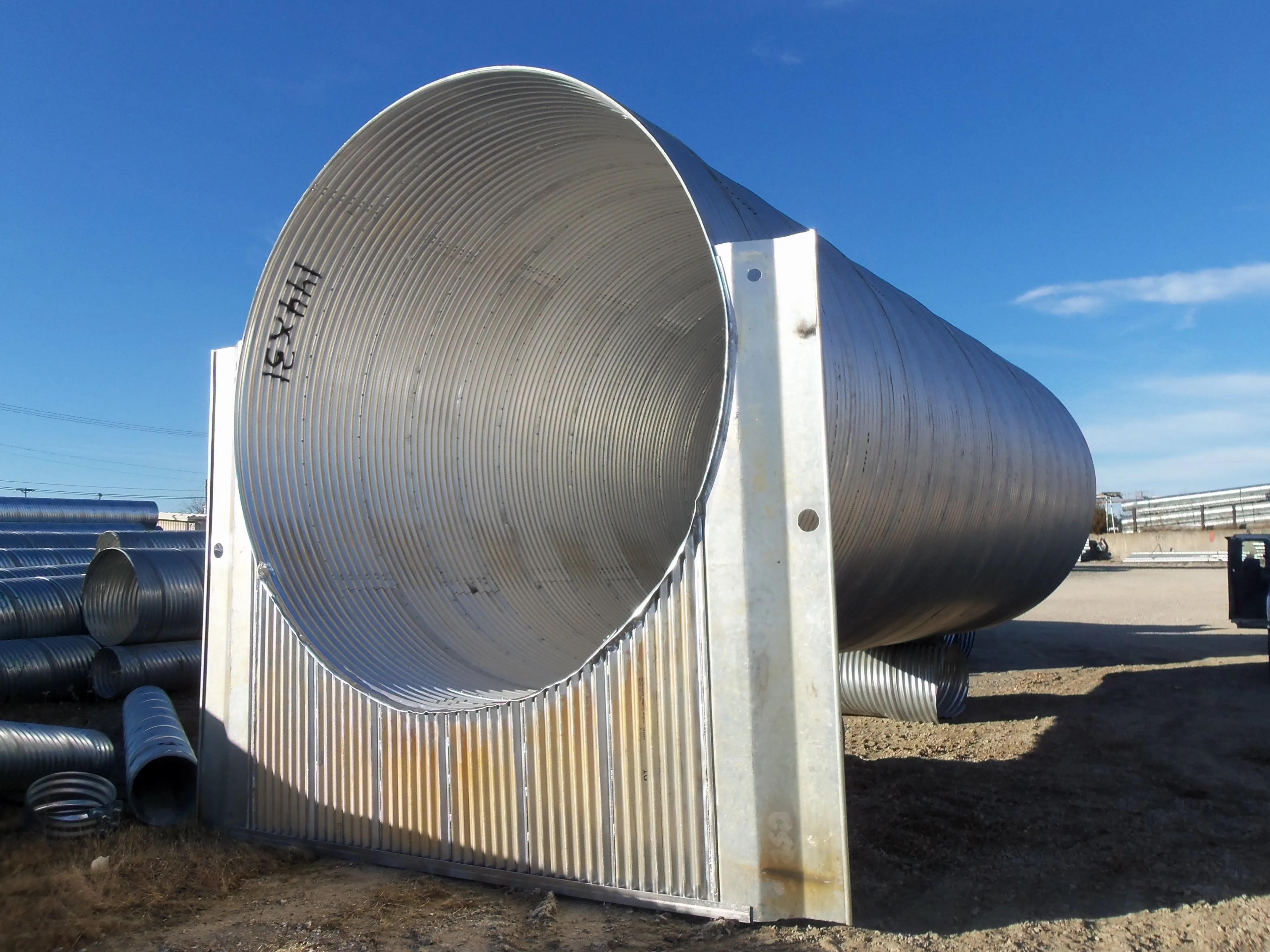 Corrugated Metal Pipe Metal Culverts