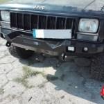 Jeep Cherokee Xj Front Bumper Mud Rage Metal Custom Off Road