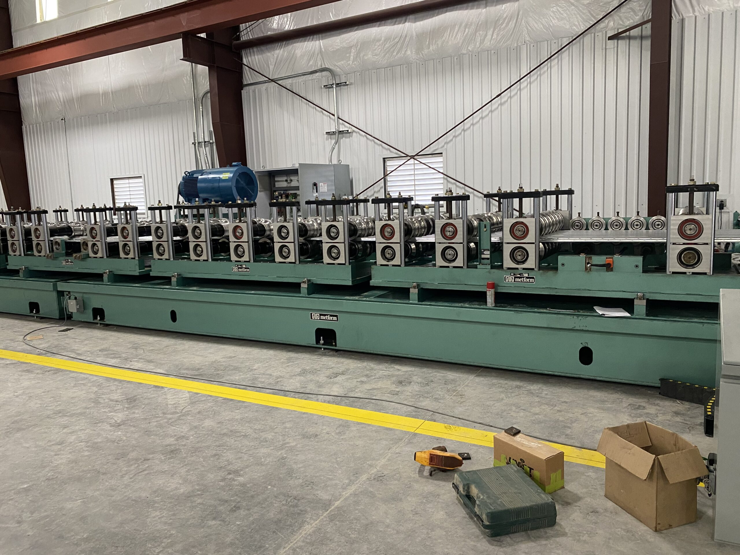 new deck mill at CSM manufacturing facility