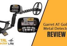 Garrett at gold metal detector review