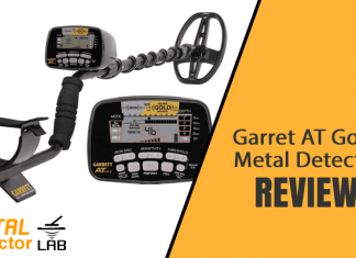 Garrett at gold metal detector review
