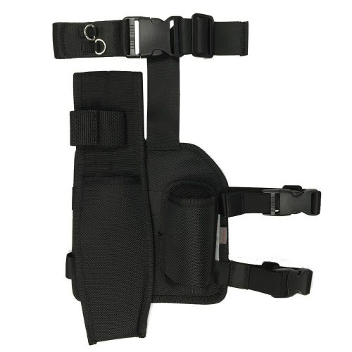 Drop Leg Pouch and Holster for Pin Pointers