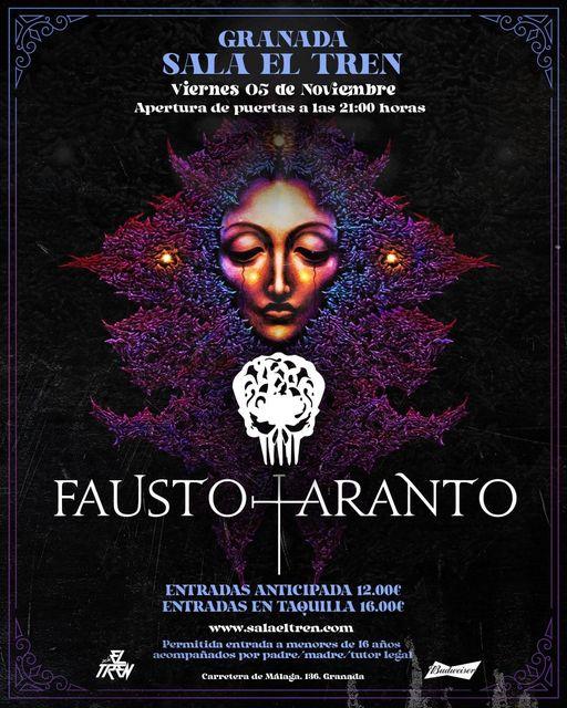 CArtel concierto FAUSTO TARANTO