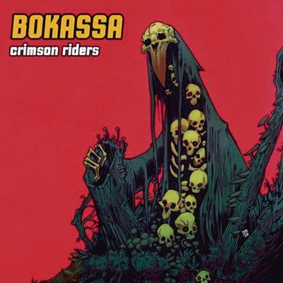 cover crimson riders du groupe bokassa