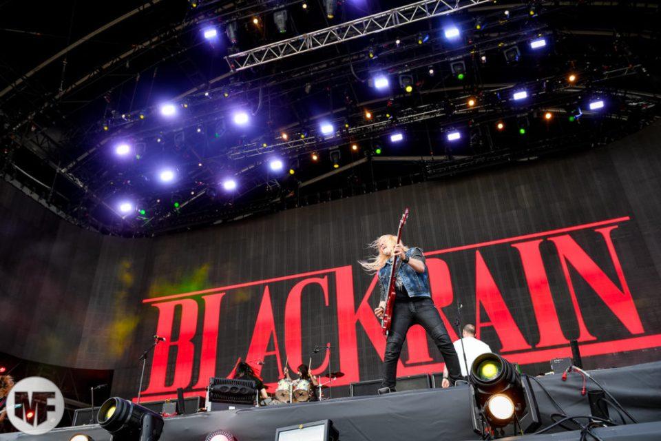 Blackrain sur la scène du Hellfest Open Air 2019
