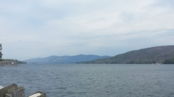 Lake George from the viewing dock