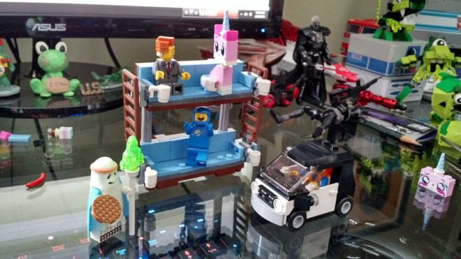 Lego set 70818, the Double-Decker Couch