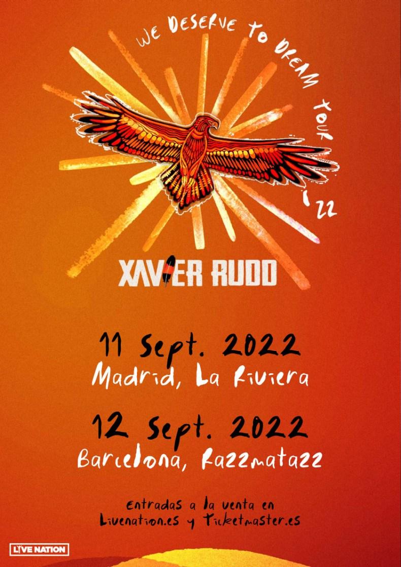 Xavier Rudd, gira 2022