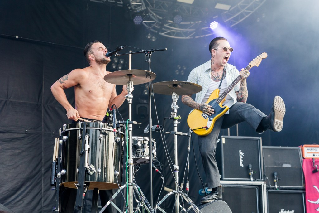 Slaves (UK) at Heavy MOntreal 2018