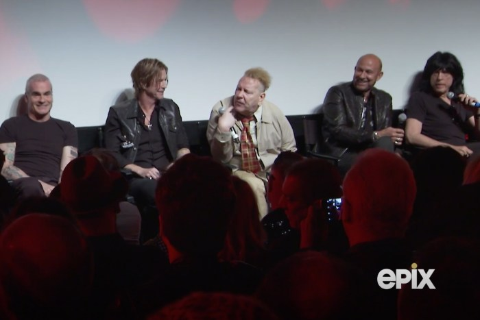 Watch: Johnny Rotten & Marky Ramone Almost Come To Blows at