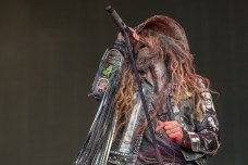 Rob Zombie representing the USA stage at Knotfest France 2019