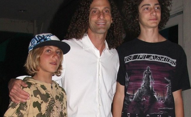 Watch Kenny G S Son Shred Metal Injection