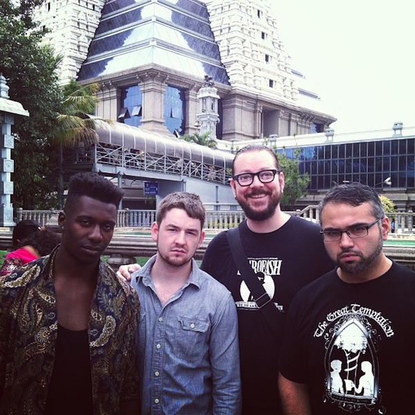 Ihsahn with Animals As Leaders