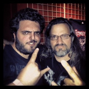Rob and Luc Lemay of Gorguts
