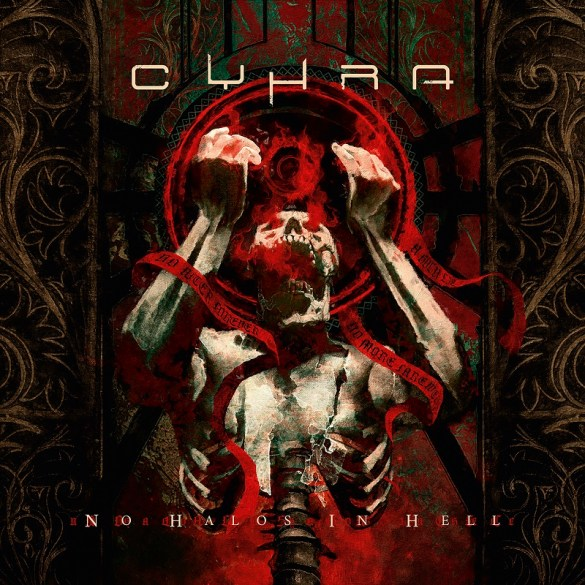 Cyhra metal band. Cover of new album