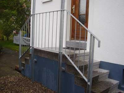 Treppenaufgang Tür tür zum treppenaufgang metallbau haus schlosserei markisen