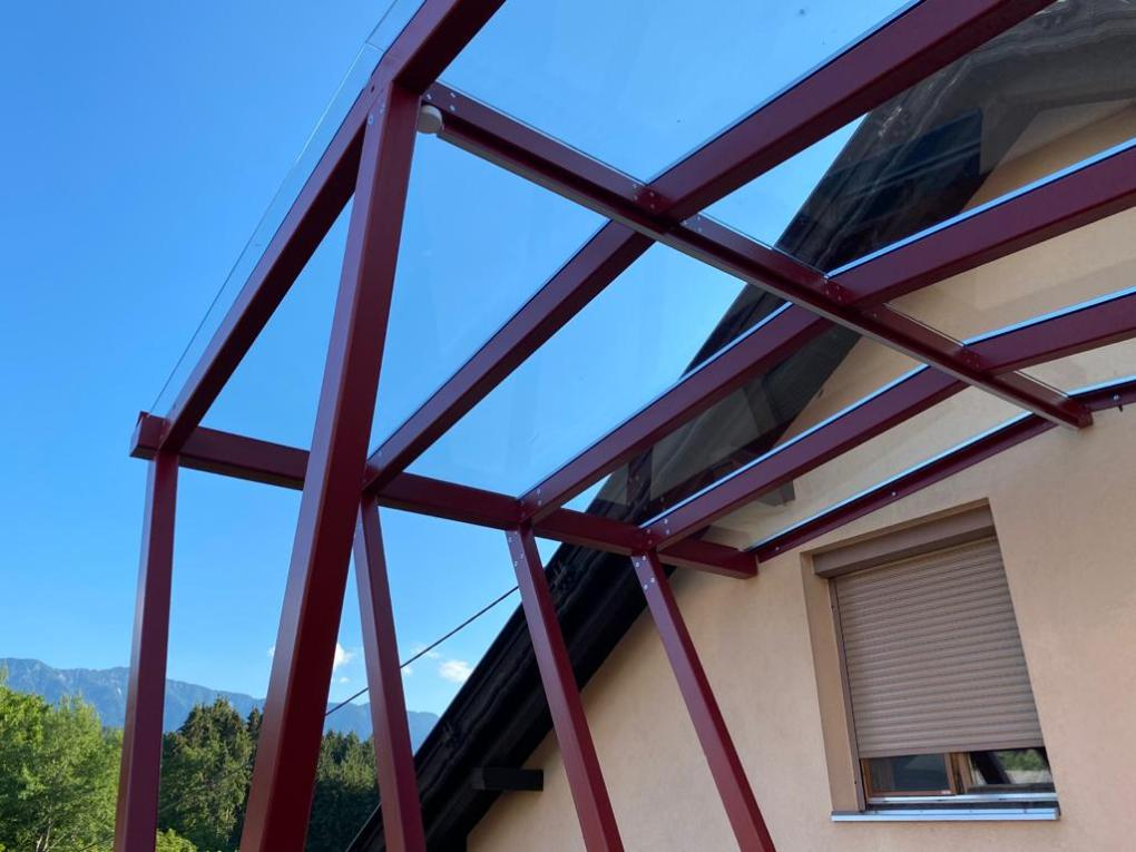 Terrassendach in Maria Gail